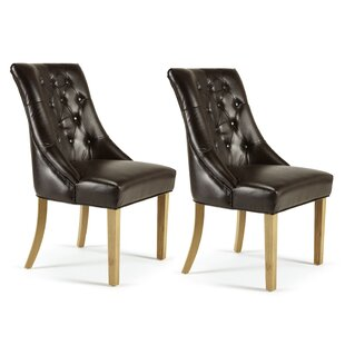 Rickard Upholstered Dining Chair (Set Of 2) By August Grove