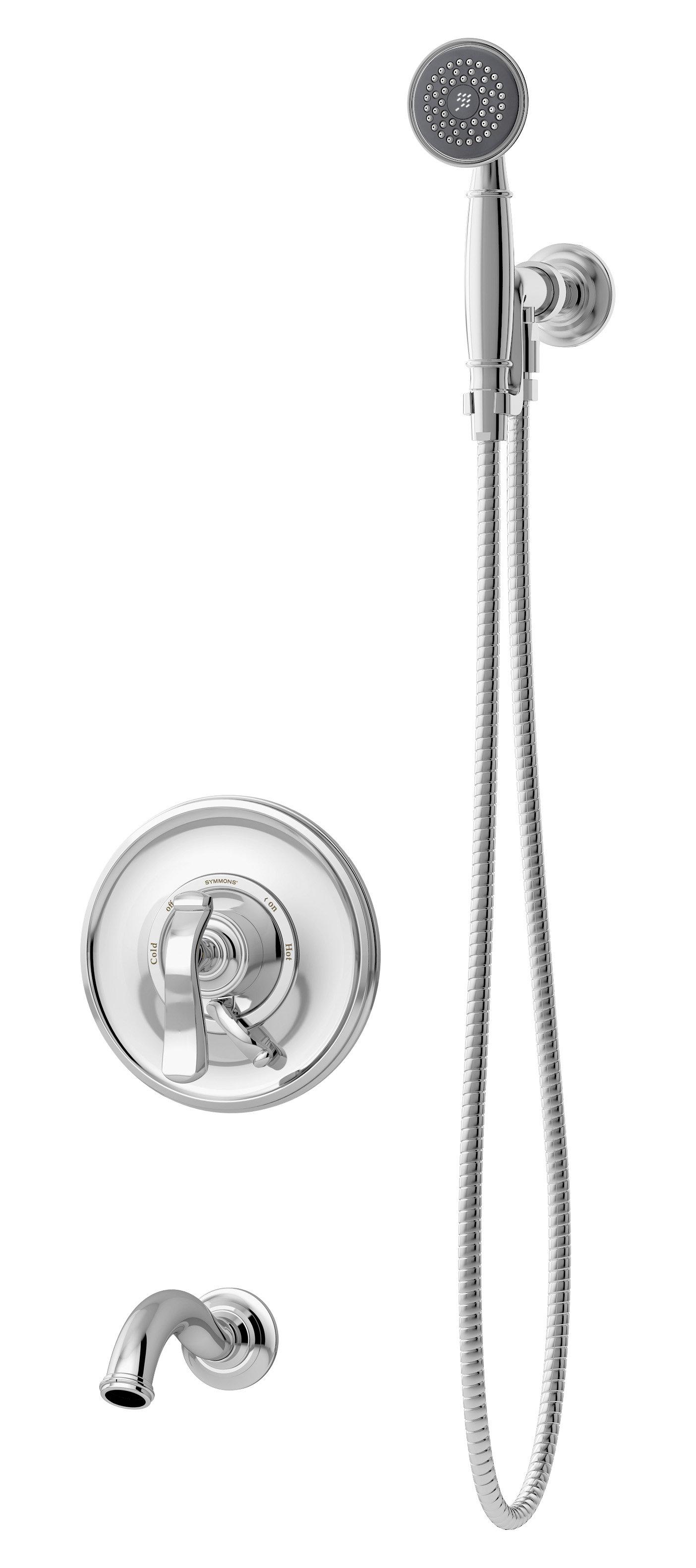 Winslet Pressure Balanced Diverter Fixed Shower Head Complete Shower System