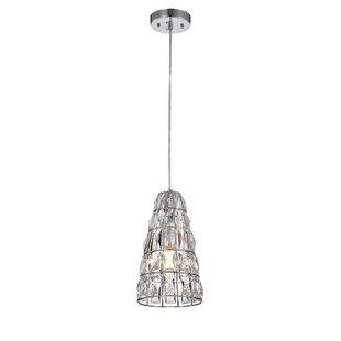 Bauman 1-Light Bell Pendan..