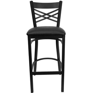 Barker Series 31 Bar Stool (Set of 2) Red Barrel Studio