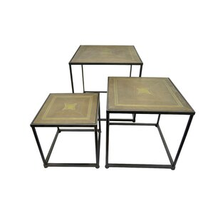 Three Hands Co. 3 Piece Nesting Tables