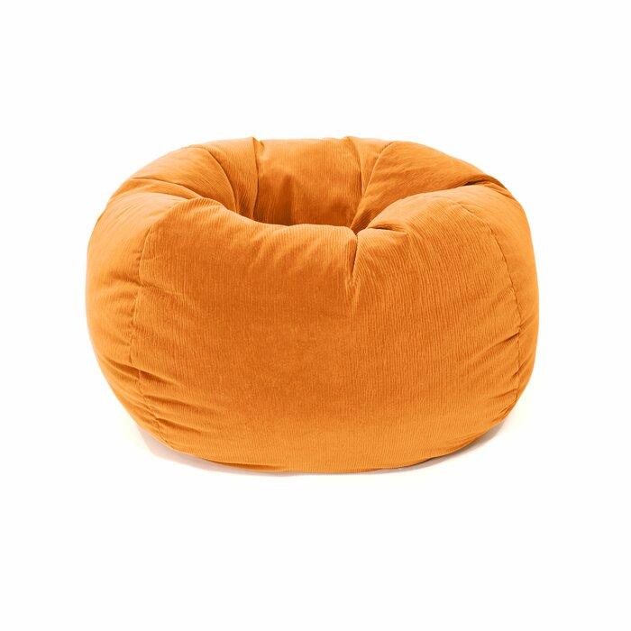 Pleasant Upholstered Bean Bag Chair Creativecarmelina Interior Chair Design Creativecarmelinacom