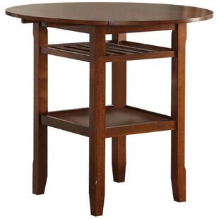August Grove Talbot Counter Height Drop Leaf Dining Table