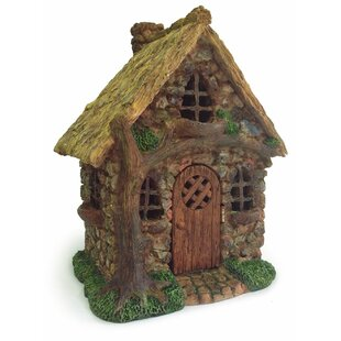 English Tree Cottage Statue by Marshall Home Garden