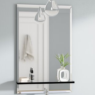 Best Reviews Brizendine Bathroom/Vanity Mirror By Wade Logan