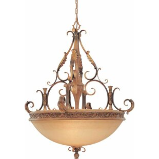 Volume Lighting Venetian 5-Light Bowl Pendant