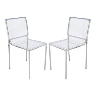 LeisureMod Almeda Side Chair (Set of 2)
