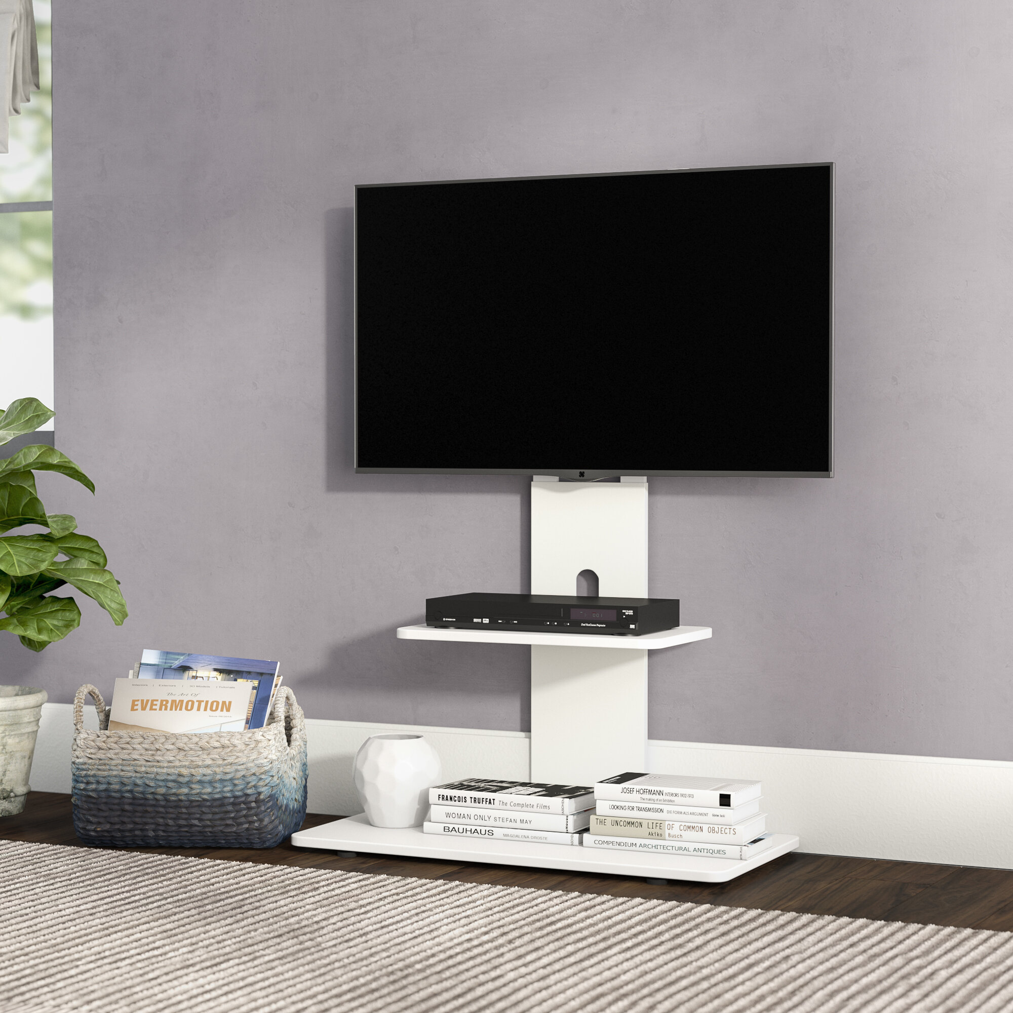 Flat Panel Mount Tv Stands Youll Love Wayfair Multi Room Distribution System On Wall Wiring Diagram Quickview