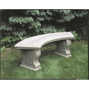 Millar Curved Woodland Ferns Bench