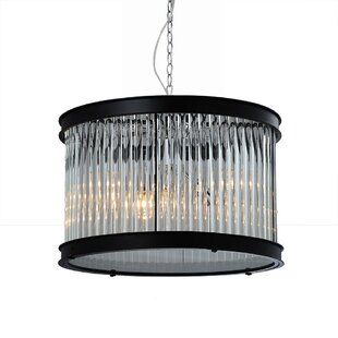Sussex 1-Light Crystal Pendant by Bromi Design