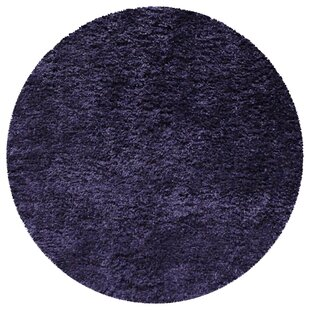 Hand-Tufted Polyster Navy Blue Area Rug by Latitude Run