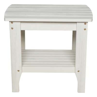 Casler Wooden Side Table by Breakwater Bay Great price