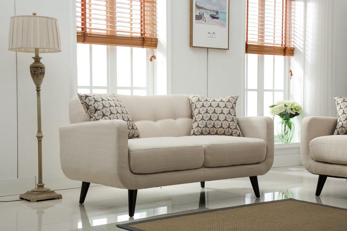 Roundhill Furniture Modibella 2 Piece Living Room Set Reviews