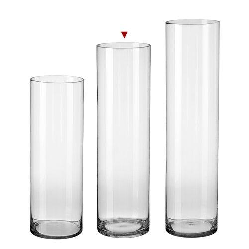 Bodenvase Roeder ClearAmbient Größe: 70 cm H x 20 cm B x 20 cm T | Dekoration > Vasen > Bodenvasen | ClearAmbient