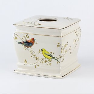 Reviews Culberson Birds Tissue Box Cover By August Grove