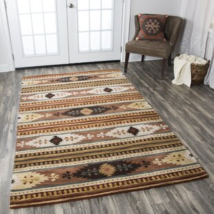 Great Price Early Hand-Woven Wool Area Rug By Millwood Pines