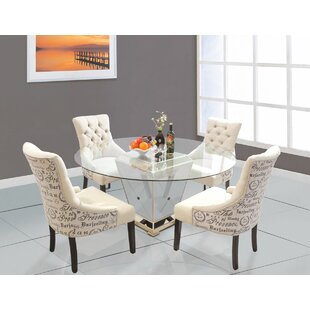5 Piece Dining Set BestMasterFurniture