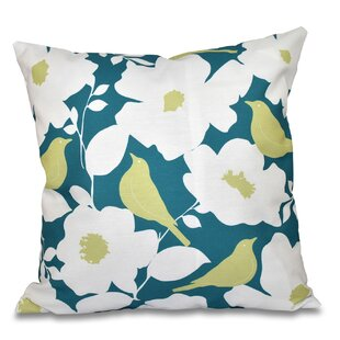 Franca Modfloral Outdoor Throw Pillow