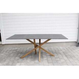 Chelsey Iron Dining Table By Isabelline