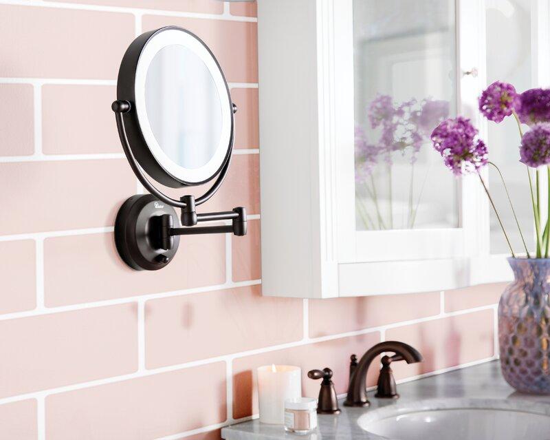 Darby Home Co Aldona Modern Contemporary Makeup Shaving Mirror Reviews Wayfair
