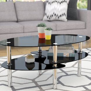 Renato Coffee Table with Magazine Rack by..