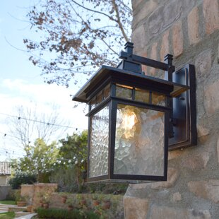 Sherly Outdoor Wall Lantern by Bloomsbury Market
