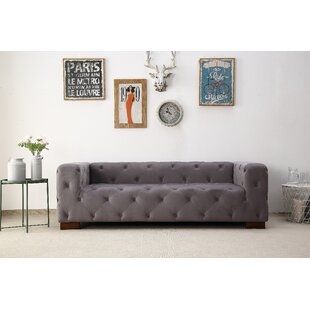 Ossett Tufted Elegant Chesterfield Sofa