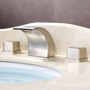 Wide-Spread Waterfall LED-Thermal Sink Faucet BySumerain International Group