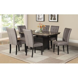 Thill 7 Piece Dining Set by Red Barrel St..