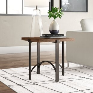 Baratta Distressed End Table