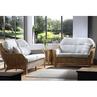 Darrow 3 Piece Conservatory Sofa Set By Beachcrest Home