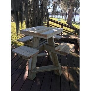 Horace Solid Wood Bar Table by Loon Peak Read Reviews