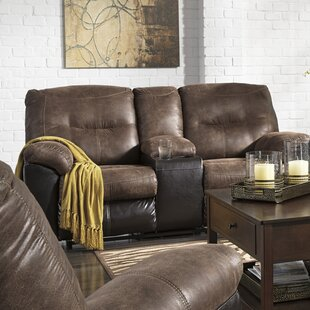 Latitude Run Elsmere Leather Reclining Sofa