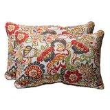 Dierks Outdoor Throw Pillow (Set of 2)