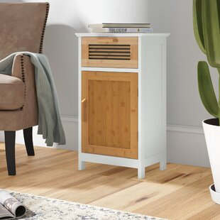 Tetrault Bamboo Floor 1 Drawer Accent Cabinet