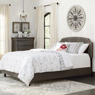 Dupre Upholstered Panel Bed by Lark Manor