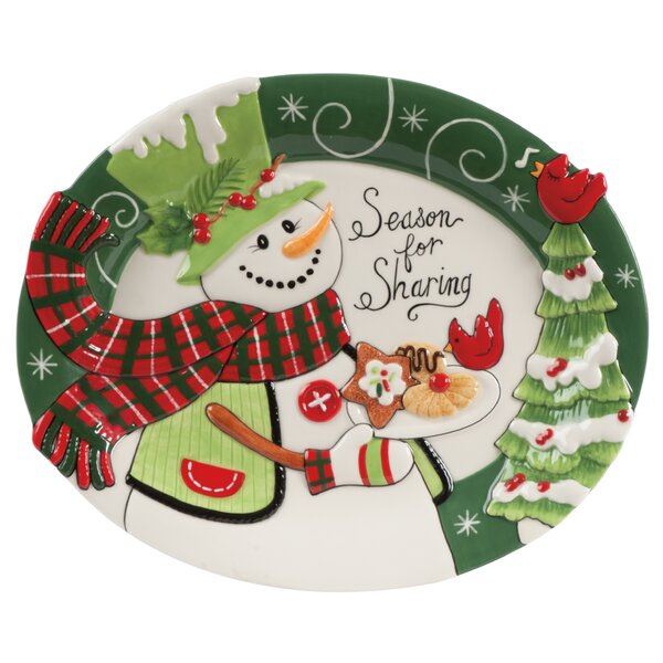 christmas dishes and platters youll love wayfair