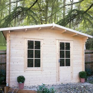 Skowhegan 10 X 8 Ft. Tongue And Groove Log Cabin By Sol 72 Outdoor