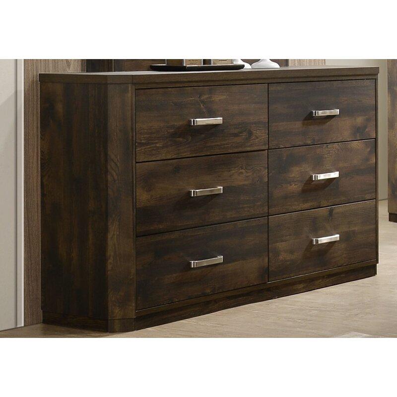 Loon Peak Sherrard Standard 5 Piece Configurable Bedroom Set Wayfair