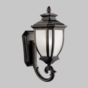 Three Posts Greenview Traditional 1-Light Outdoor Wall Lantern