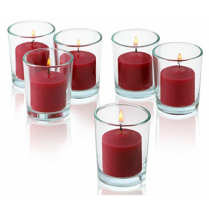 Light In The Dark Apple Cinnamon Scented Votive Candle Wayfair