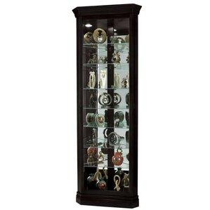 Duane Lighted Corner Curio Cabinet by Howard Miller®
