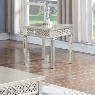 Reviews Blaxcell End Table by Rosdorf Park