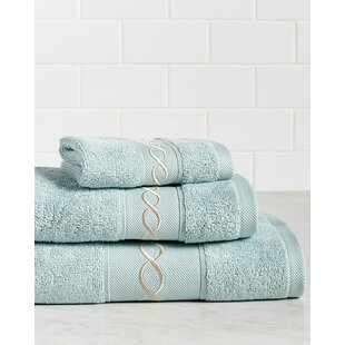 Dwayne Knots Premium 600 GSM 3 Piece Turkish Cotton Towel Set