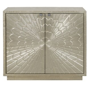Carlin Carved 2 Door Accent Cabinet by Everly Quinn