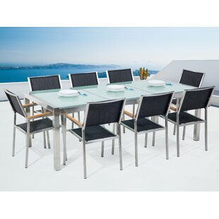 Sharon 8 Seater Dining Set By Sol 72 Outdoor