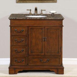 Best Reviews Eichler 36 Single Bathroom Vanity Set ByCharlton Home