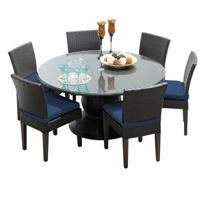 TK Classics Napa 7 Piece Dining Set with Cushions