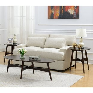 George Oliver Bryce 3 Piece Coffee Table Set