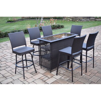 Parishville 7 Piece Bar Set by Darby Home Co Best Choices